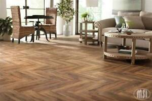 """Porcelain tile that looks like wood.6x24 only $1.59"""""""