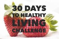 30 Day Healthy Living Challenge