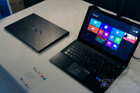 Seek Cherche Sony Vaio Pro 13 pay cash 5-800 & Macbook Pro 2011+