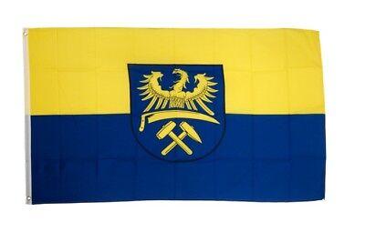 Fahne Oberschlesien Flagge oberschlesische Hissflagge 90x150cm