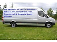 Reliable Van Removal Service £20 Per Hour Loading & Unloading in London and all UK