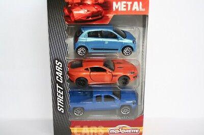 - Neu Ca. 6-7cm Majorette 212052790 Blau Chevrolet Silverado Cars