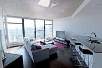 33rd Floor Fully Furnished 1 Bedroom in Woodwards