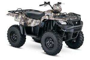 2017 Suzuki KING QUAD 500 CAMO