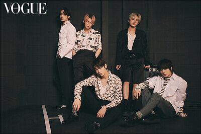 TXT Cutout Pages 14p VOGUE Korea March 2021 Not Whole Magazine