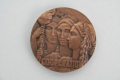 Frankreich - Homage de Cooperation - Preismedaille