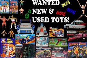 Wanted : Action Figures, Play Sets, Retro Items!