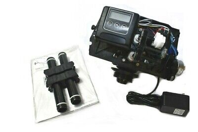 Fleck 9100 Water Softener Control Valve Dual Tank Replacement Head DEFECT - READ