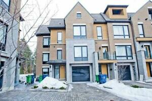 Luxury End Unit Freehold Townhouse At Kenneth Wood Cres N