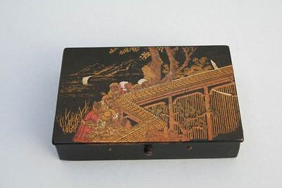 Kleines Kiste für Schreibzeug (Schule) um 1900