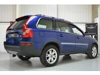 Volvo XC90 Ocean race rear car