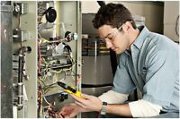 HVAC services, furnace, AC, humidifier, gas piping, duct work