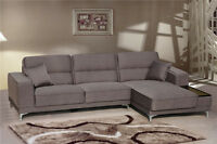 Brand new modern sectional Fabric sofa/couches hotsale$899.99