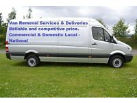 Van Removal Service Special Offer £20 Per Hour included Driver help
