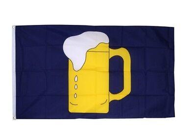 Fahne Flagge Bier - 90 x 150 cm Hissflagge