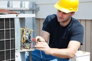 Air conditioner service and sales.