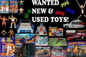 Wanted : Retro Action Figures, Toys, Play Sets
