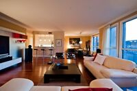 Executive Delux condo for rent - downtown Montreal