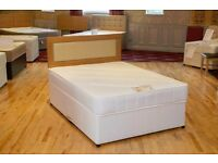 CHEAP PRICE // JUST £89 FOR DOUBLE DIVAN BED WITH MATTRESS AND FREE DELIVERY