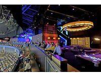 2 x Sky Bar Backstage Row A VIP tickets to Kell Brook v Golovkin (GGG)