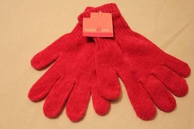 NEW Ladies Girls Gloves Soft Winter Wear Pink Gift Snow Ice Womens Warm Hands