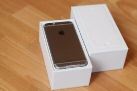Apple iPhone 6 - 64GB - Black / Space Grey (Unlocked) Smartphone