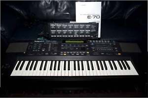 Roland E-70 (synth and music arranger)
