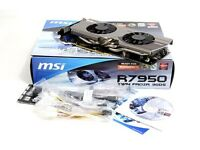 MSI Twin Frozr 3GB GDDR 5 PCI Graphics card