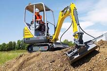 Site clean up Rubbish removal bobcat excavator hire earthmoving Ninderry Maroochydore Area Preview