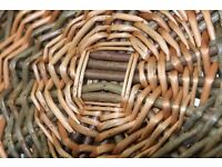 Beginner's willow basket weaving course (Sat 18th March)