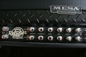 Roadster Dual Rectifier Mesa Boogie 100Watt Amp and 4X12 O/S Cab London Ontario image 6