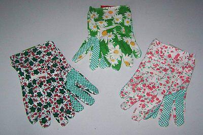 1 Paar Gartenhandschuhe für Frauen für leichte Gartenarbeiten Garten