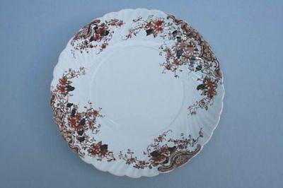 Porzellan Teller mit Umdruckdekor, um 1890 - Krone
