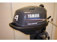 yamaha four stroke four h.p mint