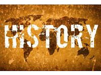History Tutor Urgently Required - Immediate Start