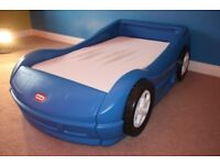 Boys Little Tikes Roadster Car Bed with Toddler Mattress (Worth £280 new)