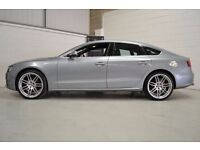 20INCH RS4 ALLOYS - ATTACHED TO AUDI A5 SLINE MONZA SILVER 2.0 DIESEL MANUAL 170BHP MANUAL