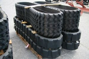 Skidsteer and mini hoe rubber tracks