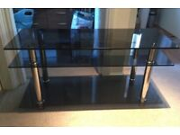 rectangular tv stand