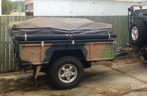 Ex Army camper trailer Bald Hills Brisbane North East Preview