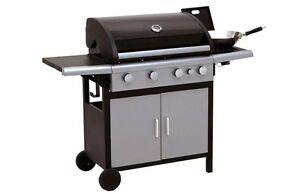 Downunder 4 burner with side plate BBQ Glendenning Blacktown Area Preview