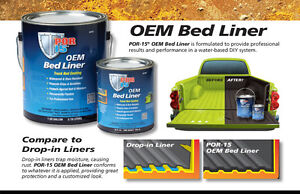 POR 15 - BEDLINER Available at Brown's Auto Supply