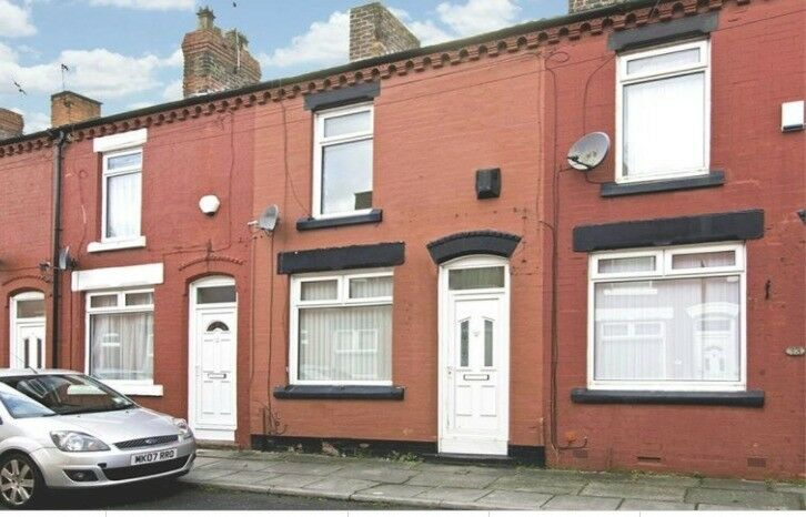 a 2 bed mid terrace, Garston, L19 1RX, set close to amenities and newly decorated, unfurn, view must