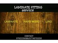 Laminate fitting service