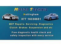 Car service and repair Nottingham