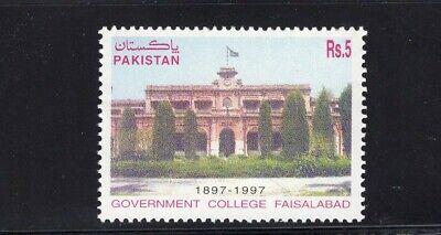 Pakistan 1998 Faisalabad Government College Centenary Torch MNH Sc 891