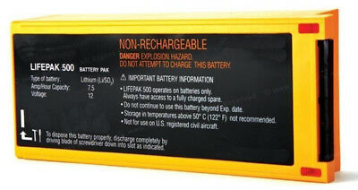 Physio-control Lifepak 500 Lithium Battery - New