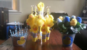 Rubber Duck Duckie Baby Shower Decorations & More