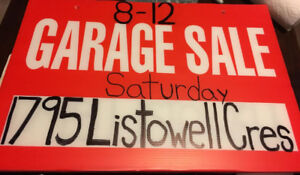 Garage Sale - 1795 Listowell Cres Pickering