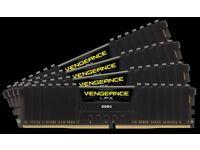 Vengeance® LPX 16GB (4x4GB) DDR4 DRAM 3000MHz C15 Memory